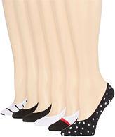 Asstd National Brand 6-pk. Microfiber Liner Socks
