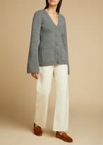 KHAITE The Kerrie Jean in Ivory