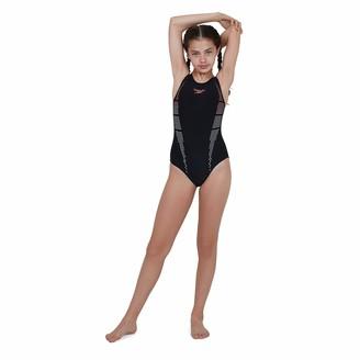 Speedo Girl's Plmt Digi Msbk See Swimsuit