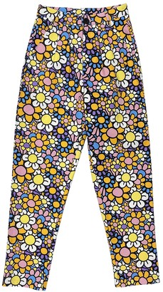 Lazy Oaf Multicolour Cotton Trousers for Women