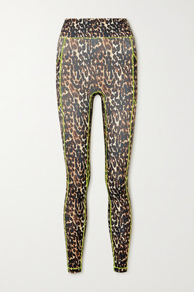 All Access Centre Stage Leopard-print Stretch Leggings - Leopard print