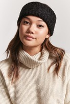 Forever 21 Cable Knit Headwrap