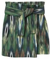 MANGO Knot printed skirt