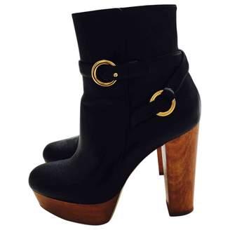 Stella McCartney Stella Mc Cartney Black Leather Boots