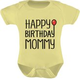 TeeStars - Happy Birthday Mommy Cute Boy / Girl Bodysuit Mom's Gift Baby Onesie 12M