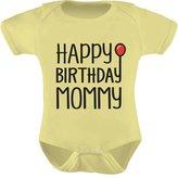 TeeStars - Happy Birthday Mommy Cute Boy / Girl Bodysuit Mom's Gift Baby Onesie 6M