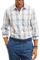 Nautica Slim Fit Plaid Sportshirt