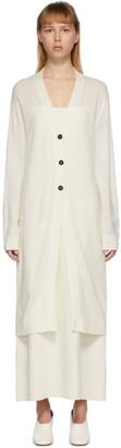 Jil Sander Off-White Jil Sanderand Cardigan Dress