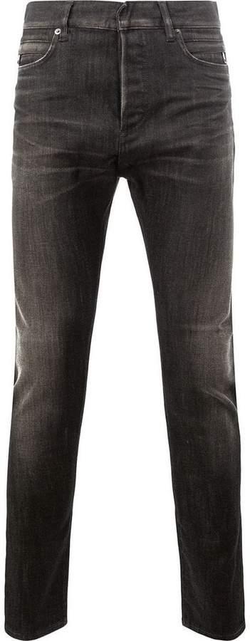 Balmain low rise slim jeans
