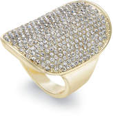 INC International Concepts Gold-Tone Pavandeacute; Statement Ring, Created for Macy's