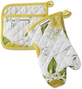 Meyer Lemon Oven Mitt and Potholder Set