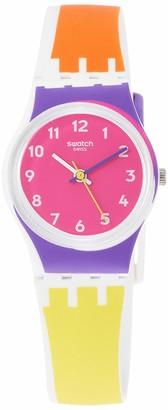 Swatch Women's Quartz Watch with Silicone Strap Multicolour 16 (Model: LW165)