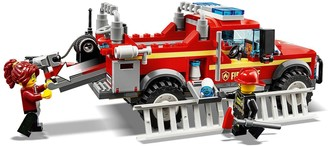 Lego 60231 Fire Chief Response Truck with Water Cannon