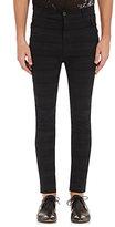 Haider Ackermann Men's High-Waist Skinny Jeans-Black