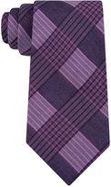Calvin Klein Men's Glen Plaid Tie