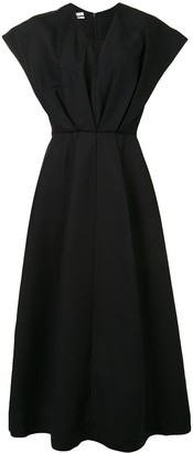 Co short sleeve V-neck dress