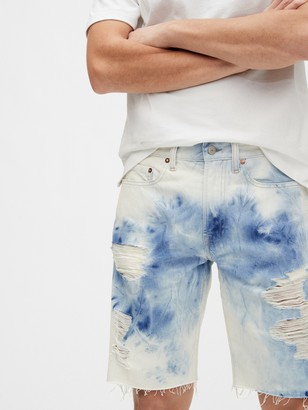"Gap 10"" Destructed Denim Shorts"