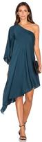 Milly Tori One Shoulder Dress