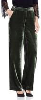 Vince Camuto Women's Drapey Velvet Wide Leg Pants
