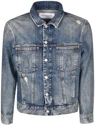 Calvin Klein Omega Trucker Denim Jacket
