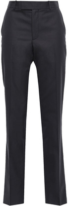 Helmut Lang Cotton-blend Twill Straight-leg Pants