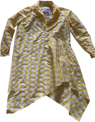 Marques Almeida Yellow Polyester Dresses
