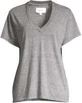 Current/Elliott The Perfect Cotton V-Neck Tee