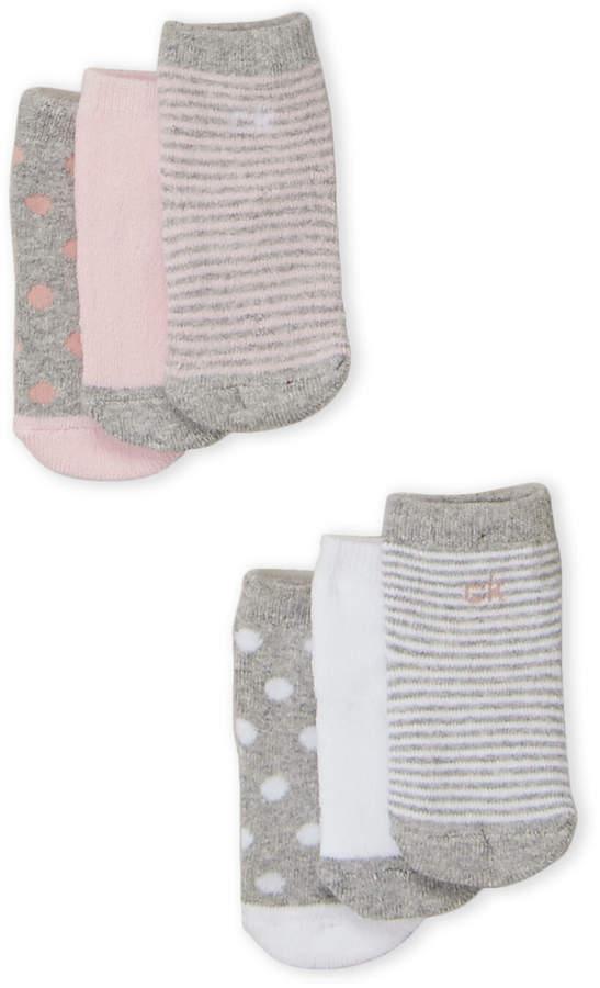 4df7f0120 Newborn/Infant Girls) 6-Pack Printed Socks