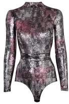 Agent Provocateur Latoya Multicoloured Sequinned Bodysuit