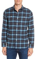 Grayers Landon Trim Fit Plaid Flannel Sport Shirt