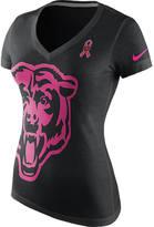 Nike Women's Chicago Bears NFL Breast Cancer Awareness T-Shirt