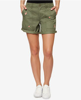 Sanctuary Embroidered Cargo Shorts