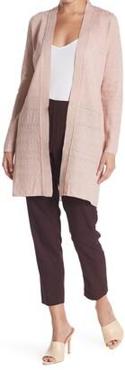 M Missoni Longline Textured Knit Cardigan