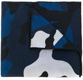 Valentino camouflage scarf - men - Silk - One Size