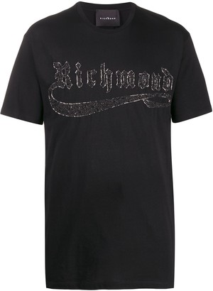 John Richmond Staircase beaded T-shirt