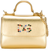 Dolce & Gabbana embellished logo tote