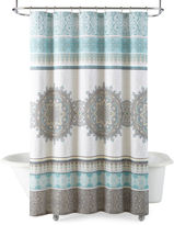 JCP HOME JCPenney HomeTM Chloe Medallion Shower Curtain