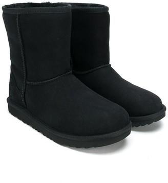 UGG TEEN fur lined boots