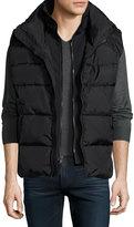 S13/Nyc Nylon 27 Puffer Vest, Black