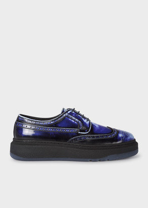 Men's Brush-Off 'Nash' Leather Brogues With Rubber Soles