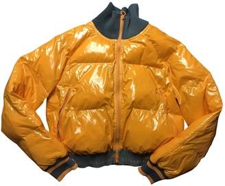 Stella Mccartney Pour Adidas Orange Coat for Women