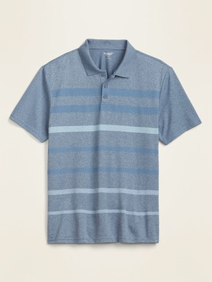 Old Navy Core Odor-Control Striped Polo for Men