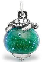 James Avery Jewelry James Avery Sterling Silver Sea Turtle Finial with Green Charm