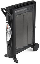 Bionaire Silent Micathermic Console Heater for Large Spaces, Black