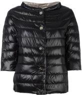 Herno high neck three-quarters jacket - women - Polyamide/Goose Down - 40