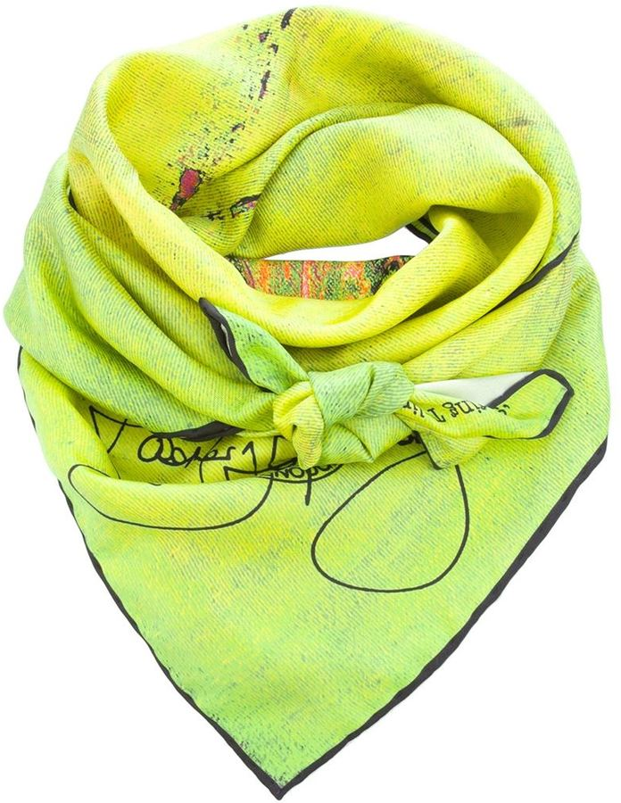 Rosemary Goodenough 'Springing Tulips XIX' scarf