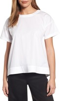 Eileen Fisher Petite Women's Stretch Organic Cotton Top