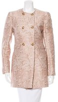 Stella McCartney Jacquard Double-Breasted Coat