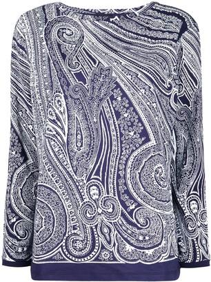 Etro Paisley Print Cotton Top