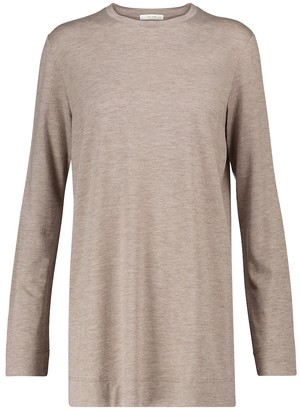 The Row Bakin modal and cashmere sweater